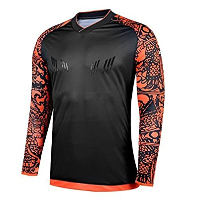 KEIME Soccer Goalkeeper 2017-18 Summer Sleeve Professional Training Shirt