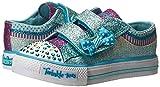 Skechers Kids Twinkle Toes Shuffles Sweet Steps