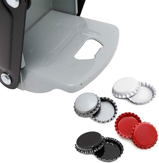 LuukUP Trituradora de latas operada con el pie-trituradora de Botellas de Pedal Ajustable Plegable de 16 onzas-para Botellas de pl/ástico y latas Tipo Herramienta de Reciclaje