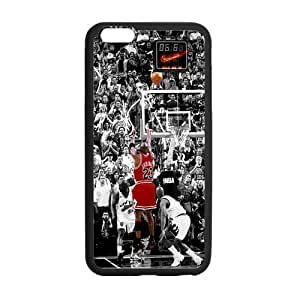 [Accessory] iPhone 6 Plus Case, [Michael Jordan] iPhone 6 Plus (5.5) Case Custom Durable Case Cover for iPhone6 TPU case(Laser Technology)