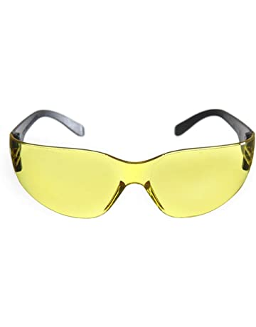 6821febe SunnyClover Safety Protective Glasses Labor Protection Glasses Goggle for  Indoor or Outdoor Sports Yellow Clear Lens