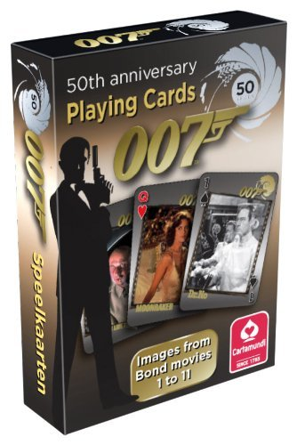 James Bond 007 50th Anniversary Playing Cards Movies 1 to 11 by Cartamundi