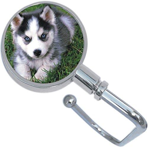 Husky Puppy Dog Purse Hanger and ()