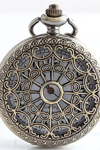 Pocket Watch Ornament - Creative Nostalgic Ornaments Definition Digital Pocket Watch Necklace Pendant Watch Lover Gift Gift for Boys Girls Students