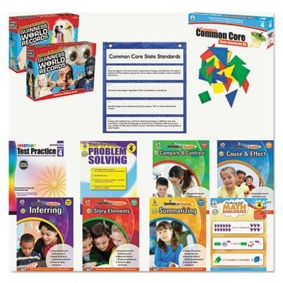 Carson-Dellosa Publishing - Common Core Kit Math/Language Grade 4 ''Product Category: Classroom Teaching & Learning Materials/Reading & Writing Materials'' by Original Equipment Manufacture