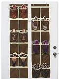 Simple Houseware 2PK Large Over Door Hanging Shoe Organizer