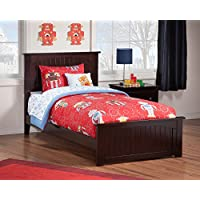 Nantucket Bed with Matching Foot Board, Twin, Espresso