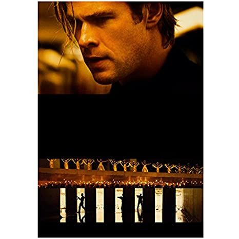 Blackhat 8x10 Photo Chris Hemsworth Blackhat Movie Poster kn at