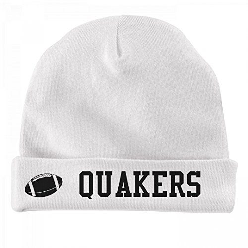 FUNNYSHIRTS.ORG Baby Football Quakers Fan: Infant Baby Hat