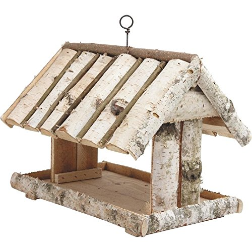 Aubry Gaspard Mangiatoia per uccelli in legno da appendere