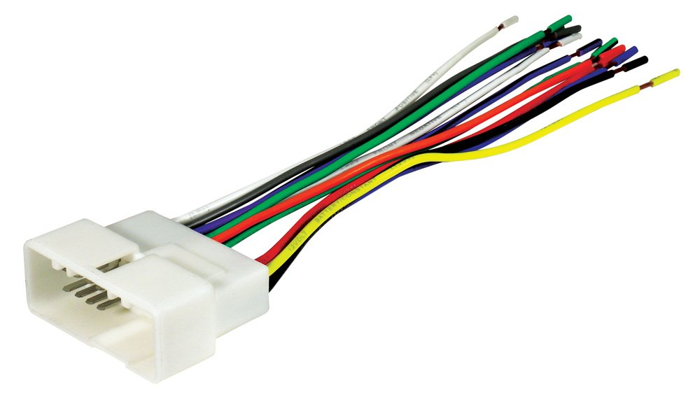 51qTRigBDqL._SL1000_ amazon com scosche hy07b 2006 up select hyundai kia harness scosche wiring harness diagrams at webbmarketing.co