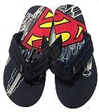 Mens Superman Comic Flip Flop Sandal (M 9/10)