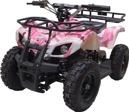 NEW UPGRADED MODEL Electric Youth ATV Sport Quad for Children with Reverse , Rubber Tires. 51qTRmAzI2L