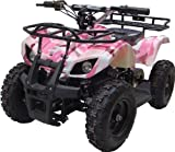 NEW UPGRADED MODEL Electric Youth ATV Sport Quad for Children with Reverse , Rubber Tires.