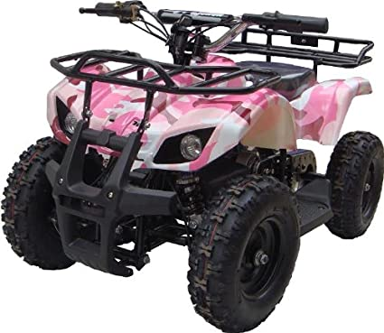 Amazon.com: Nuevo modelo mejorado eléctrico jóvenes ATV ...