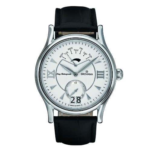 Revue-Thommen-Womens-12500-2134-Ladies-Automatic-Analog-Display-Swiss-Automatic-Silver-Watch