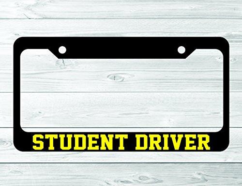 Slap-Art Student Driver License Plate Frame Holder