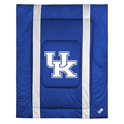 NCAA Kentucky U Sideline Comforter Queen (Texas Sidelines Comforter)