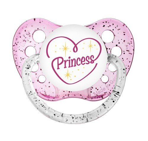 - Reborn Doll Magnetic Pacifier Princess Heart Pink Girl. Please Read Full Description - Your Doll Must Have a Magnet for Pacifier to Work
