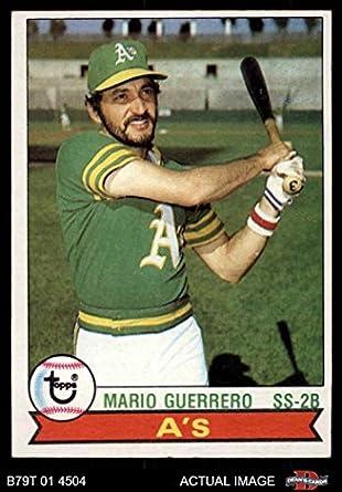 Amazoncom 1979 Topps 261 Mario Guerrero Oakland Athletics