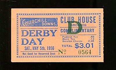 1956 Kentucky Derby Ticket 5/5/56 Needles Ex 23255