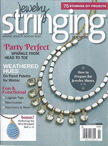 Jewelry Stringing Magazine (Winter 2016 - 75 Stunning DIY Projects)