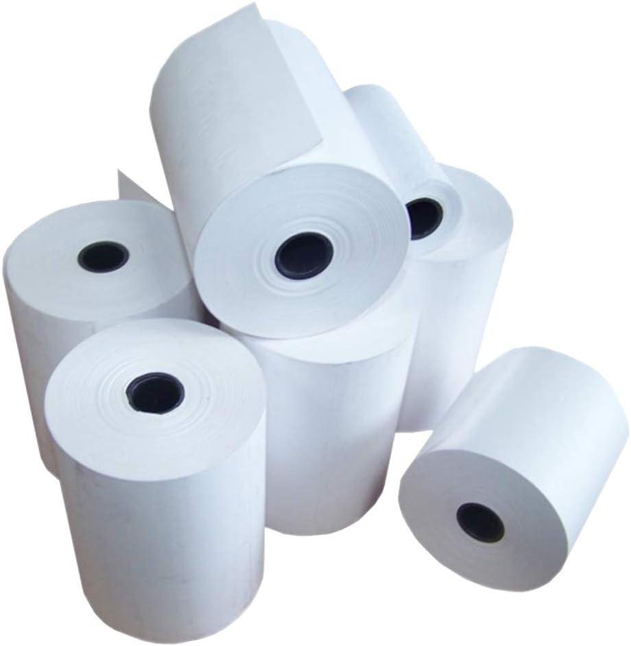 NOW PRODUCTS UK MADE - Rollos térmicos de 80 x 80 mm para puntos de venta electrónica (60 rollos en 1 caja)