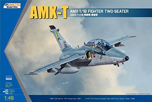 Kinetic Model Kits 1/48 AMX-T/1B Two-seater Fighter K48027
