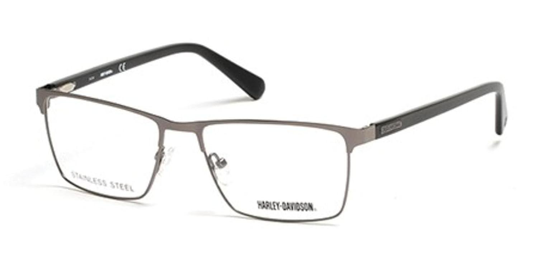 Eyeglasses Harley Davidson HD 757 HD 0757 007 matte dark nickeltin