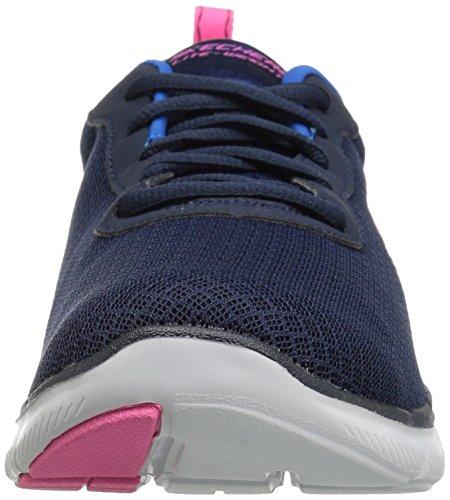 Skechers Women Flex Appeal 2.0 Newsmaker Sneaker Blue (Navy) looking for sale online O4OnC152b