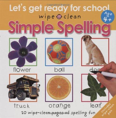 Clean Simple Spelling Ready School