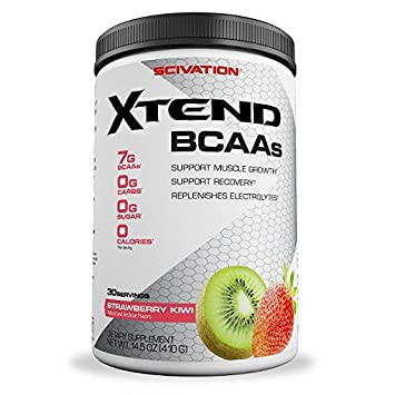 Scivation Xtend BCAAs, Recovery, 30 Serves, Kiwi Strawberry, 410 Grams