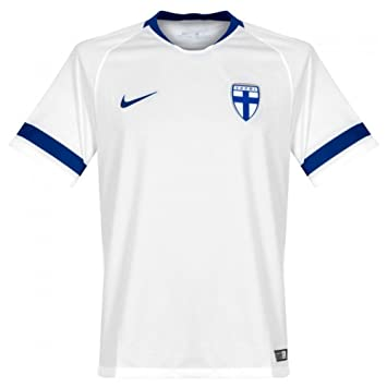 Nike 2018-2019 Finland Home Football Soccer T-Shirt Camiseta (Kids)