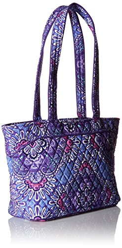Vera Lilac Bradley Cotton Tapestry Signature Mandy qfxFv