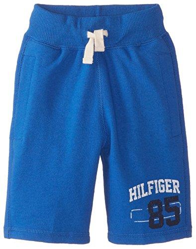 Tommy Hilfiger Little Boys' Front Knit Short, Blue Jean, 7/Regular