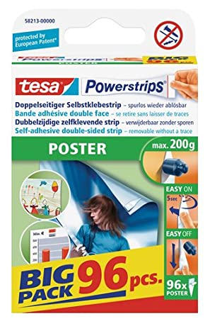 Big Pack 96/ Unidades Tesa Powerstrips Strips P/óster