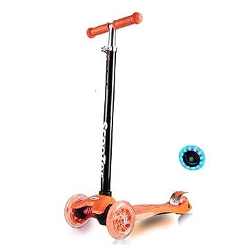 Nclon Niños Patinetes Ajustable Scooter,Patinete para niños ...