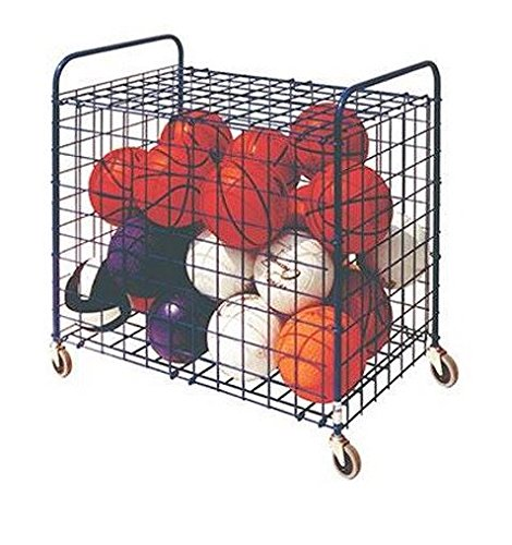 Champion Sports Full Size Lockable Ball Storage Locker (36 Inch x 24 Inch x 36 Inch)