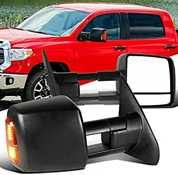 Not for Tow Mirror 07-13 Toyota Tundra//08-13 Sequoia Chrome Mirror Cover