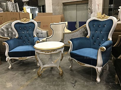 LZL nueva combinación de muebles clásicos de madera ...