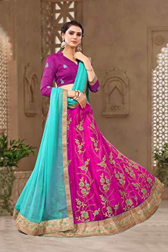 Women Indian Partywear Da Traditional Designer Ethnic Lehenga CholiMajenta Facioun 8N0yPmnOvw