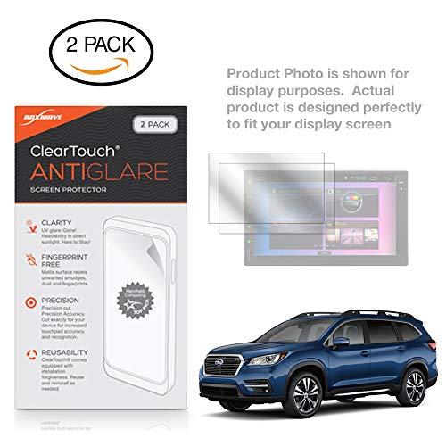 Boxwave Cleartouch Screen Protector - Subaru 2019 Ascent (8 in) Screen Protector, BoxWave [ClearTouch Anti-Glare (2-Pack)] Anti-Fingerprint Matte Film Skin for Subaru 2019 Ascent (8 in)