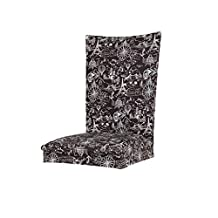 Homyl Universal Stretch Removable Chair Cover Dining Room Modern Slipcover Spandex Fabric Chair Stool Protective Cover - Eiffel Tower