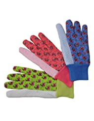 G & F 1852-3 Women Soft Jersey Garden Gloves, Women Work Glov...