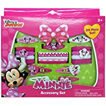 Minnie Mouse Hair Accessory Box Set with Barrettes