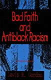 img - for Bad Faith and Antiblack Racism book / textbook / text book