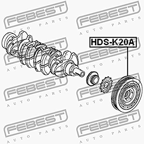 Febest Pulley Cigueal K20 Ak24 Ak20b Hds K20 A Amazon Co Uk