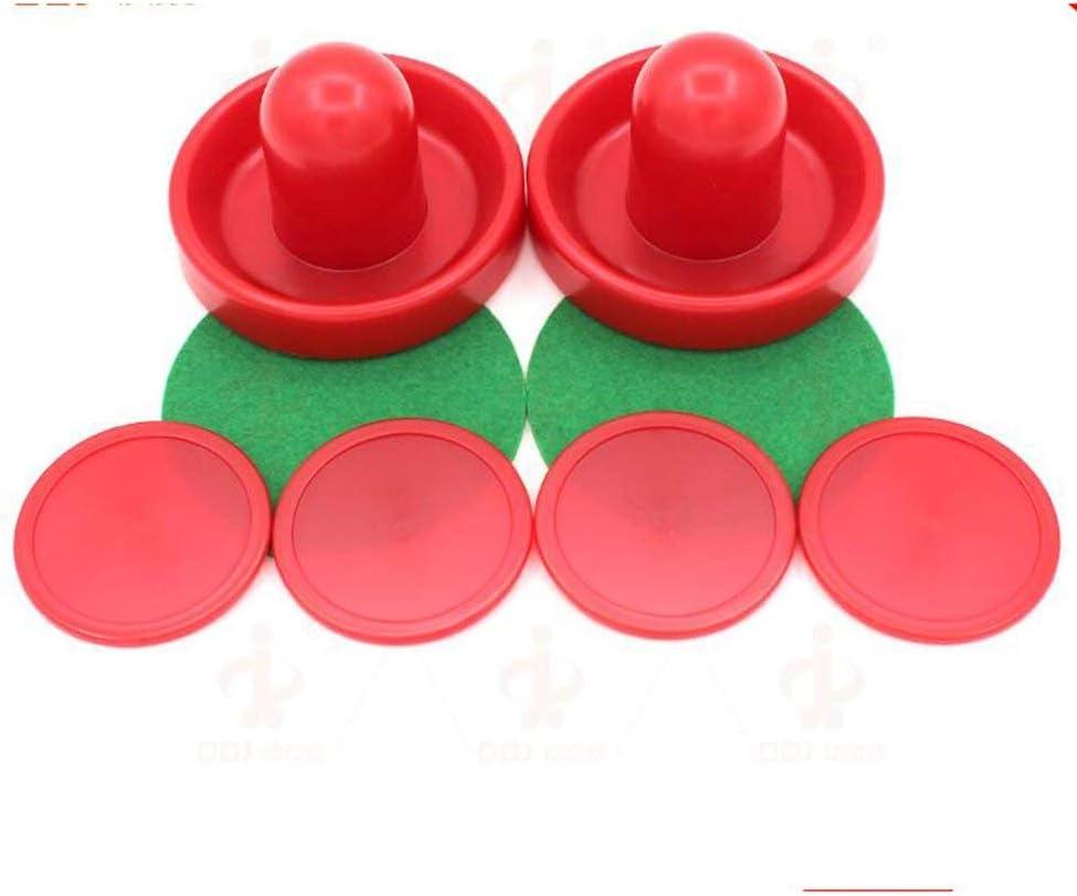 Emily 96MM Puck Ball Felt Pusher Ice Hockey Set Air Ball Table Plastic ACCessries