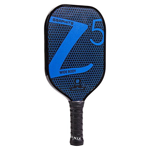 Onix Z5 Graphite Pickleball Paddle and Paddle Cover (Blue) || Gift Pack by Onix (Image #1)