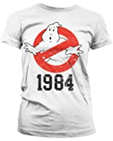 Officially Licensed Merchandise Ghostbusters 1984 Girly T-Shirt